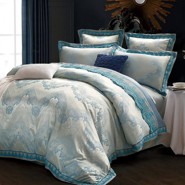 Preventing your silk bedding from sliding off the bed